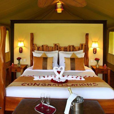 Mara Sarova Game Lodge Camp tented romantic room
